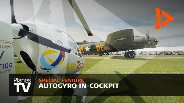 Autogyro In-Cockpit Duxford 2017