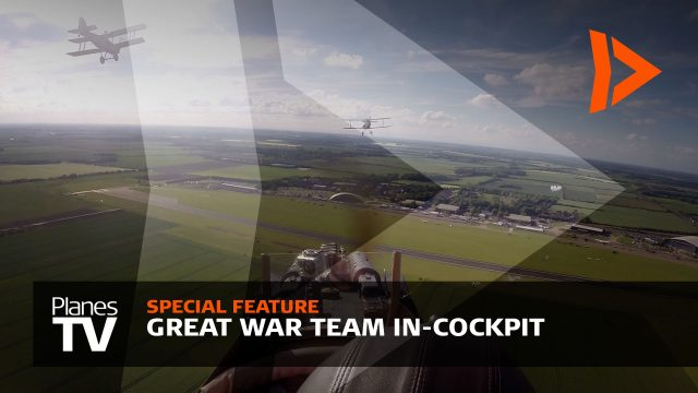 Great War Display Team In-cockpit View