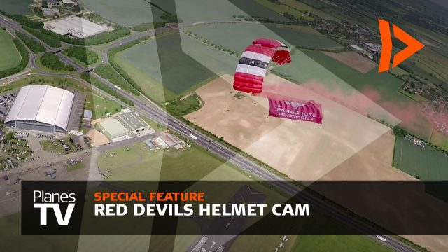 Red Devils Helmet Cam