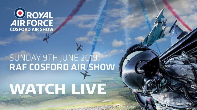 RAF Cosford Air Show 2019 Live