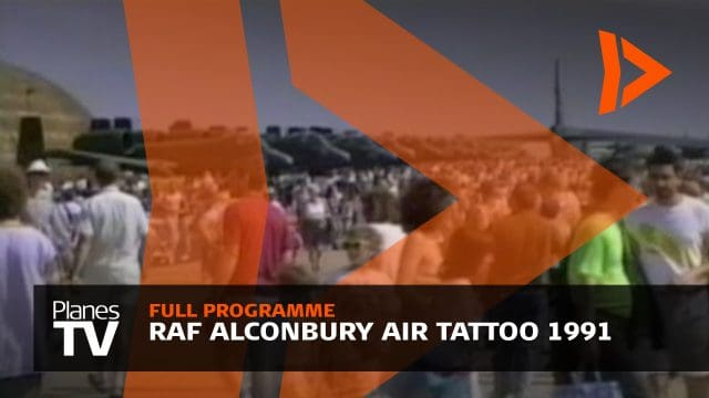 RAF Alconbury Air Tattoo 1991