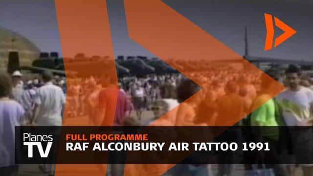 RAF Alconbury Air Tattoo 1991